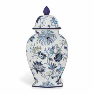 Tracy Dunn Design - Braganza Porcelain Jar