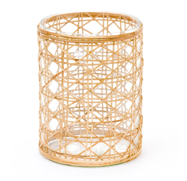 Harbour Island Large Woven Cane Hurricane