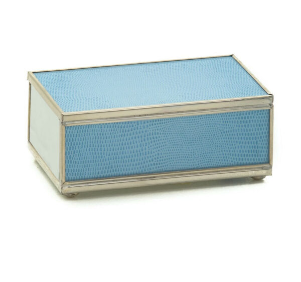 Tracy Dunn Design - Matchbox with matches-Blue skin Design