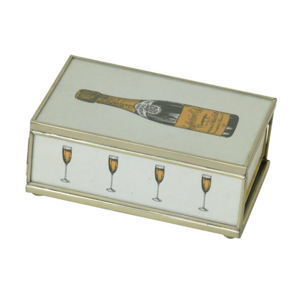 Matchbox with matches-Champagne Bottle2