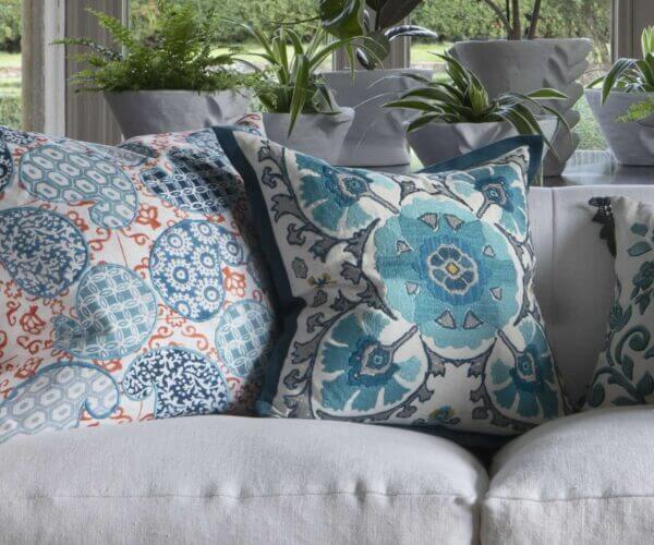 Tracy Dunn Design - Alexi - Peacock Cushion