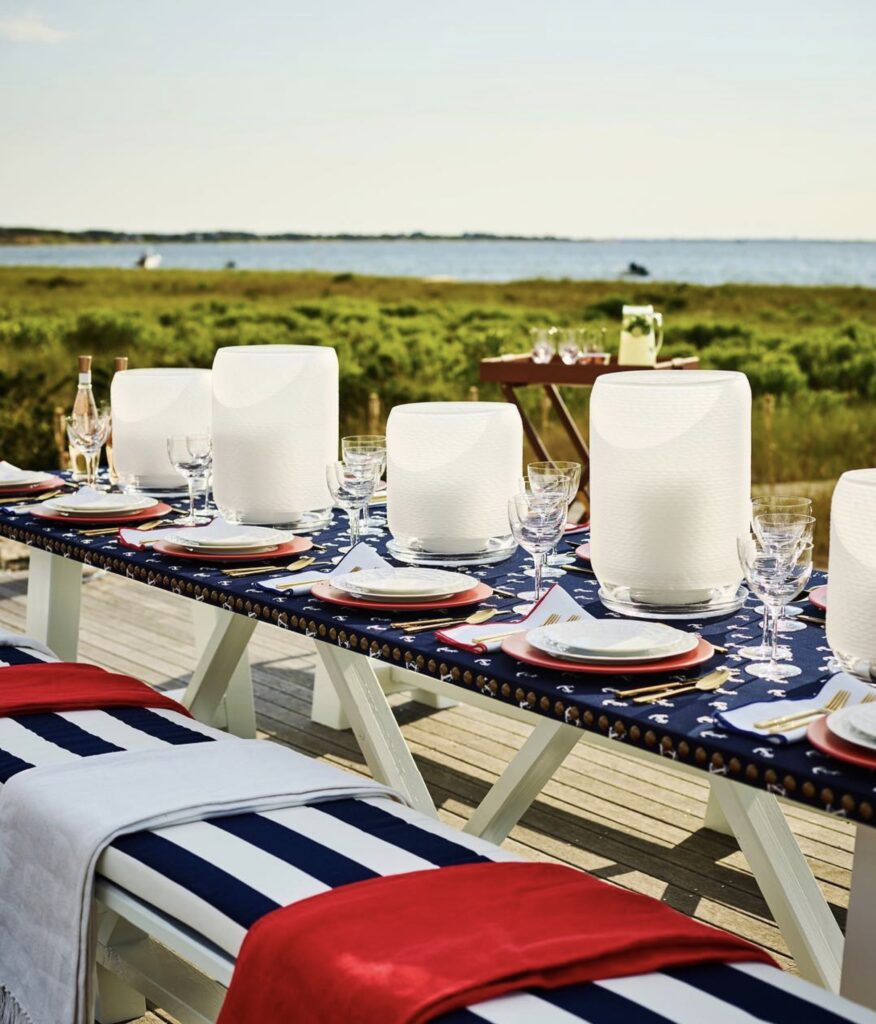 Red, White, and Blue ~ Ralph Lauren