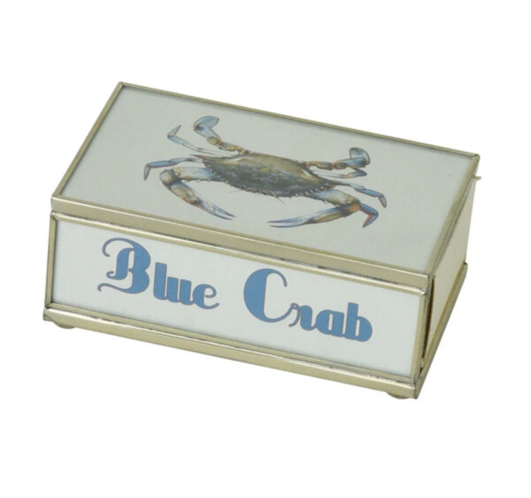 Matchbox with matches-Blue Crab