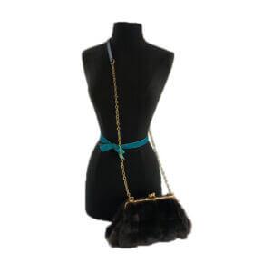 Baby-Jackie-Chocolate-mink-faux-fur-Handbag